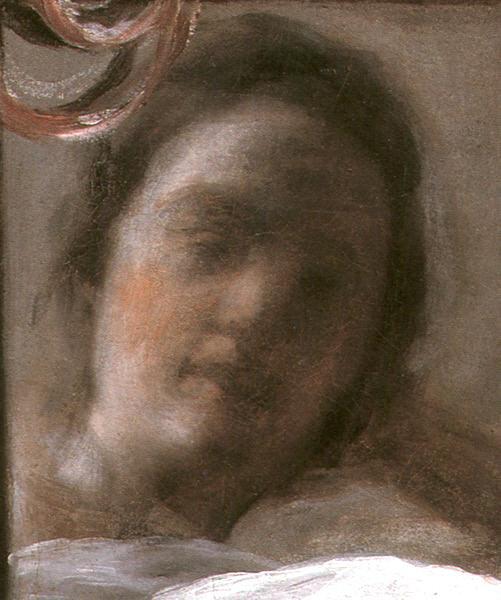 La Venus del espejo, detalle