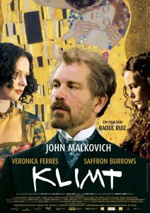 "Poster for the movie ""Klimt"""