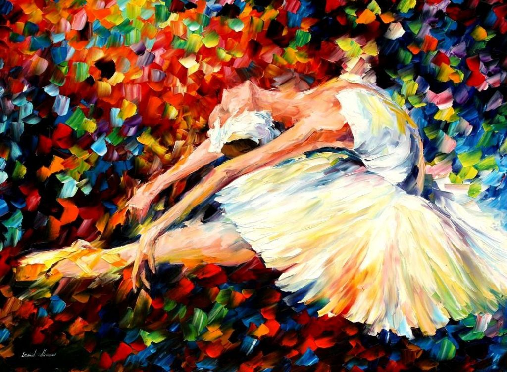 16. Leonid Afremov, Ballet