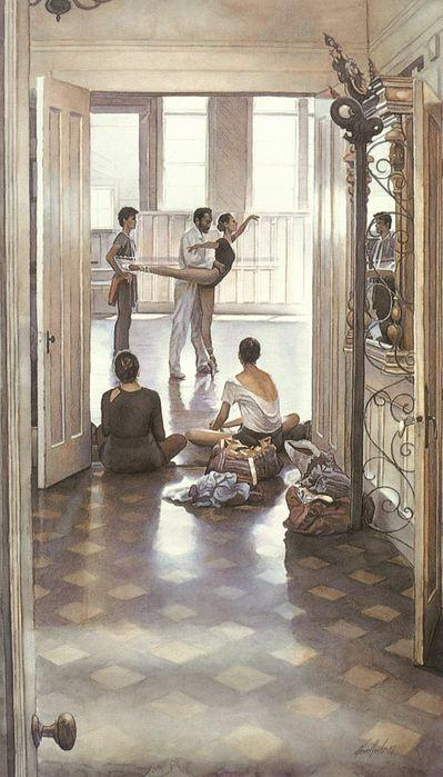 18. Steve Hanks, Ballet