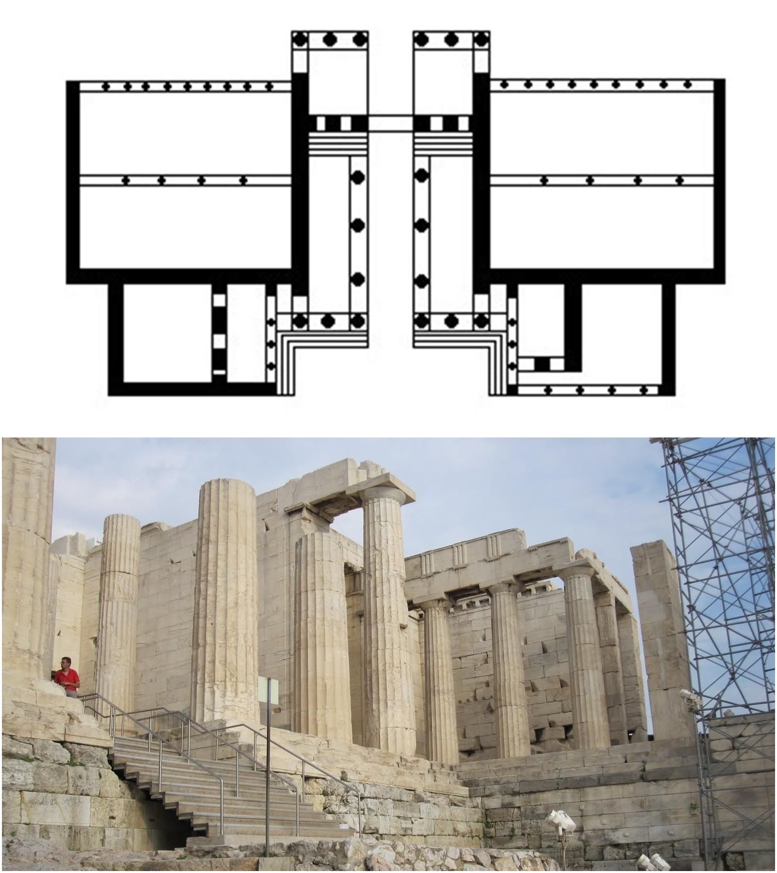 Arquitectura d rica y j nica en grecia el estudio del pintor for Arquitectura de grecia