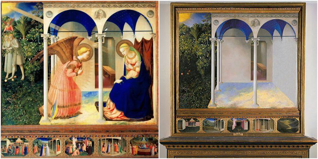 1. Anunciación, Giotto