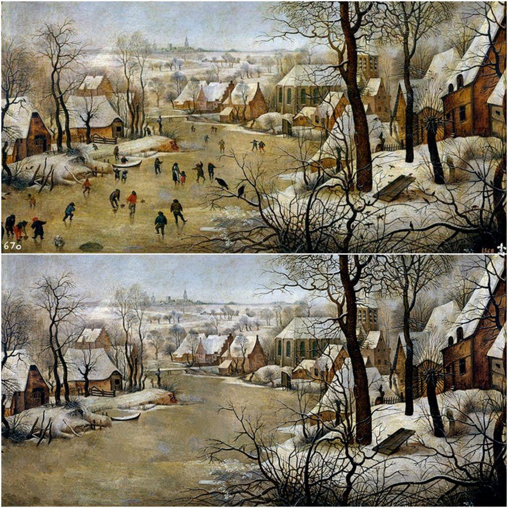 4. Paisaje invernal, Brueghel
