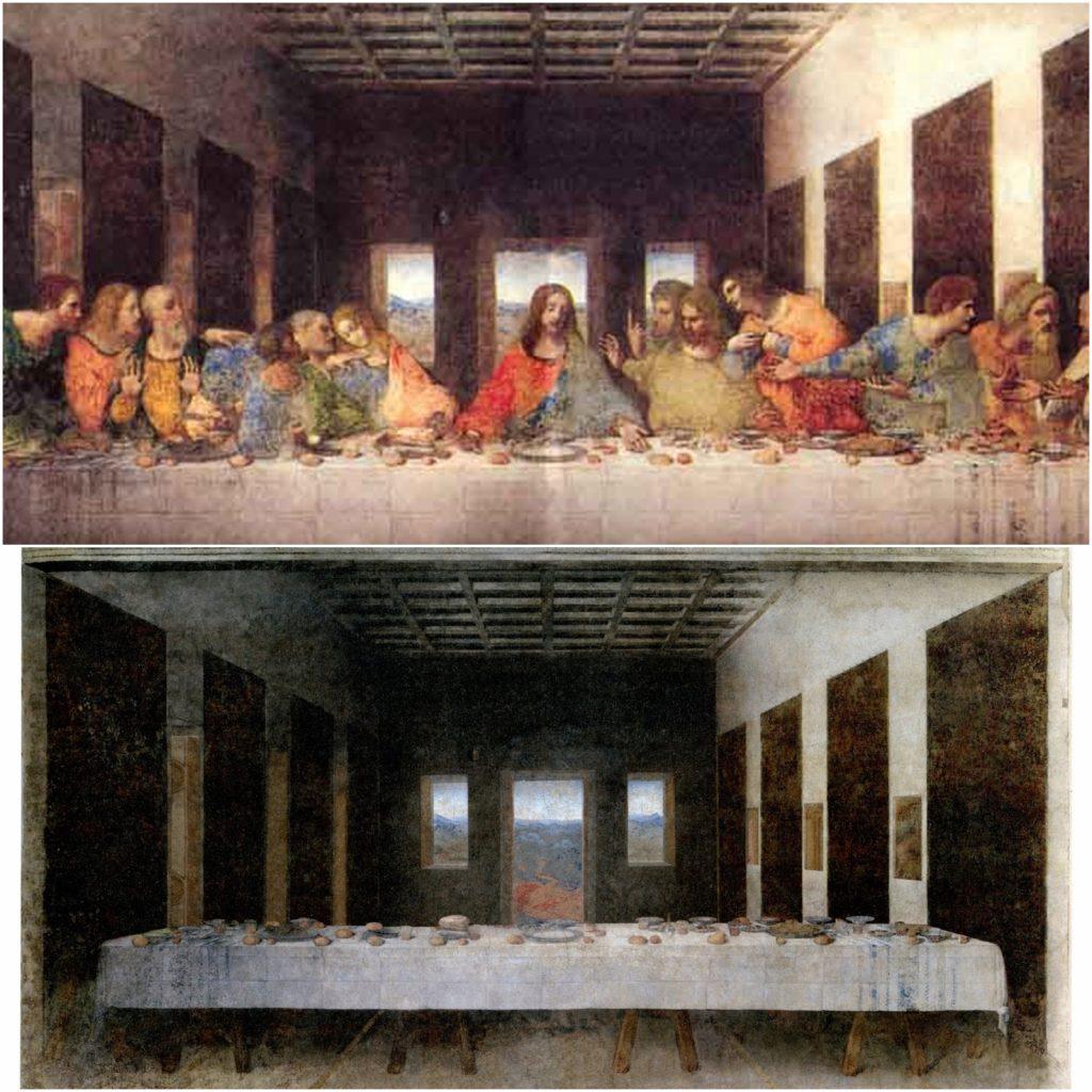 8. Última cena, Da Vinci