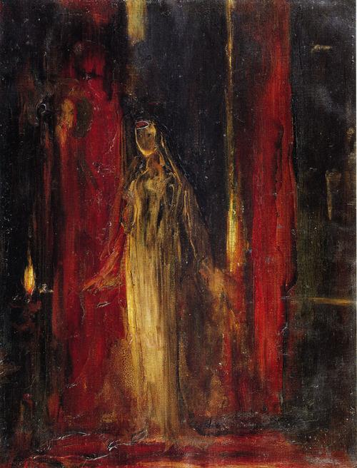 12. Lady Macbeth, Gustave Moreau, 1851