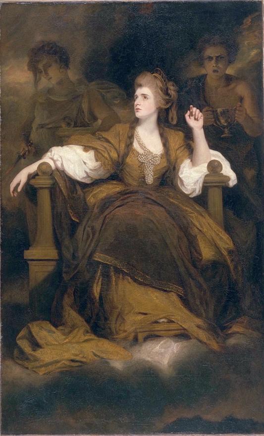 3. Sarah Siddons como la Musa de la Tragedia, Joshua Reynolds, 1783