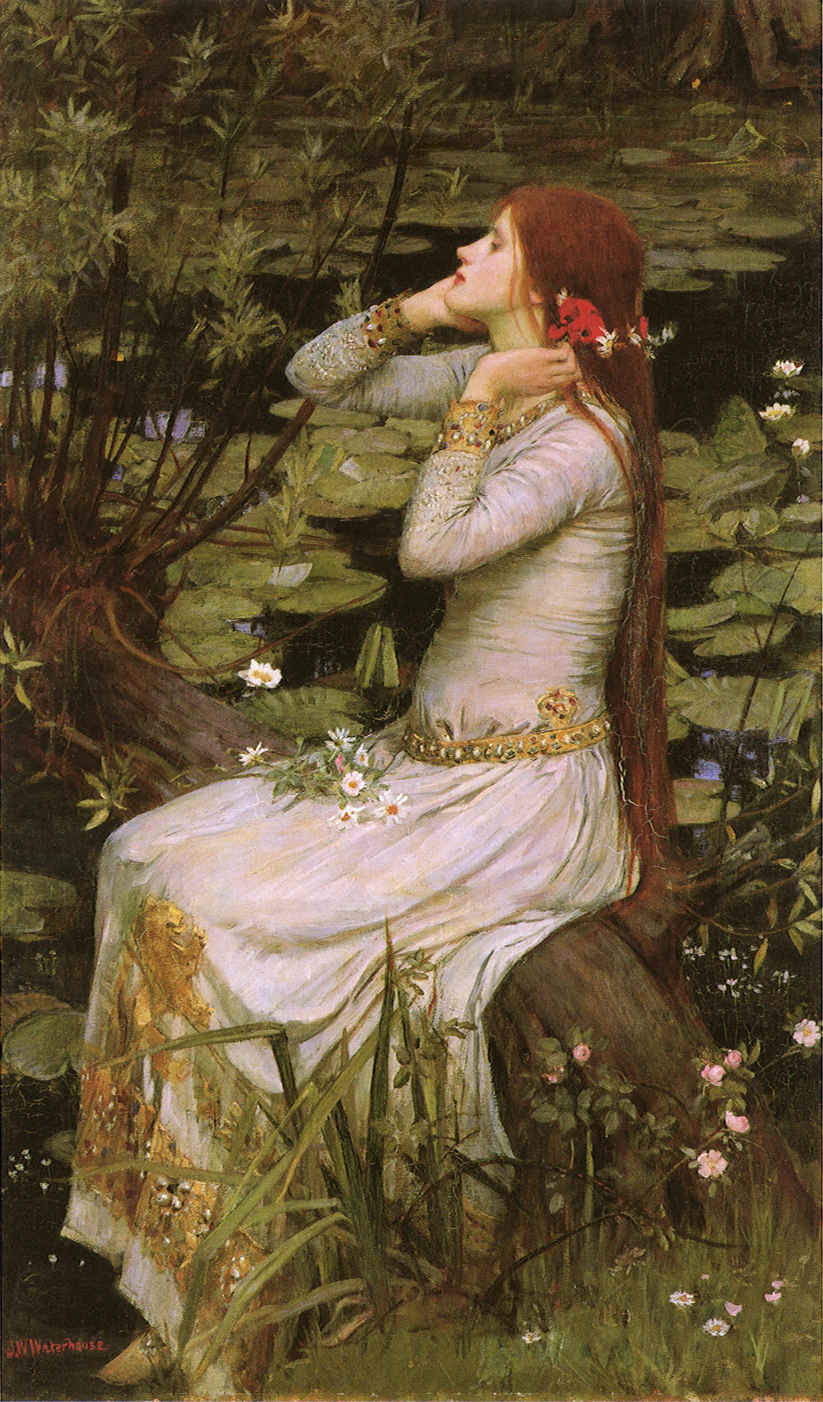 12. John William Waterhouse, Ofelia, 1894