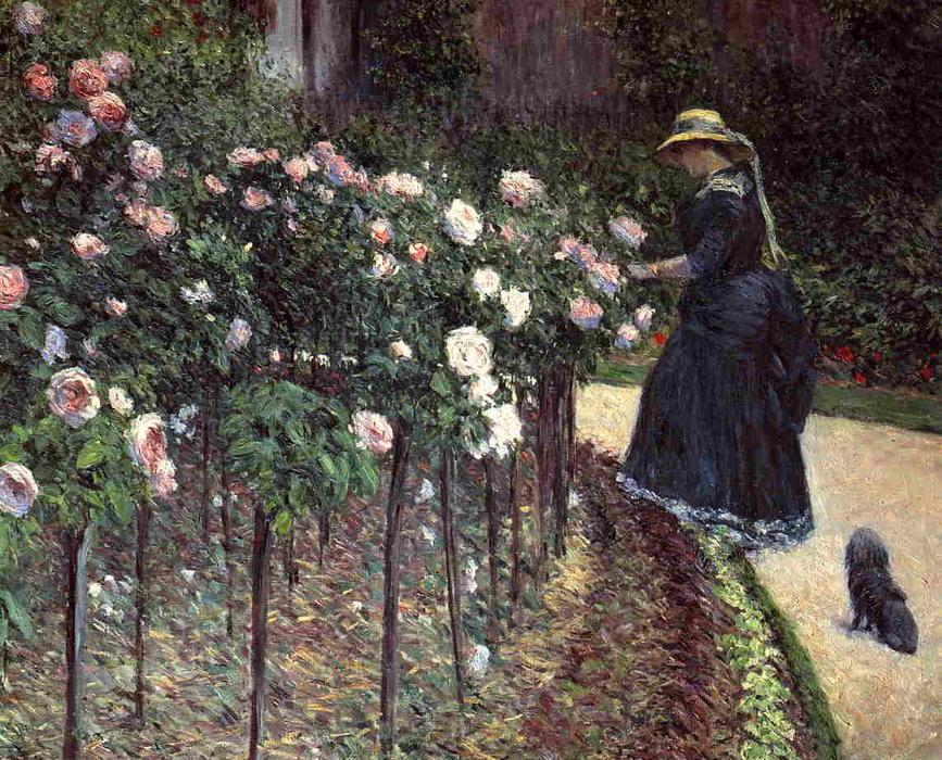 11. Las rosas, el jardín de Gennevilliers