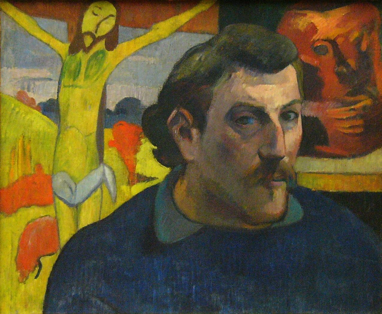 2. Autorretrato con Cristo amarillo