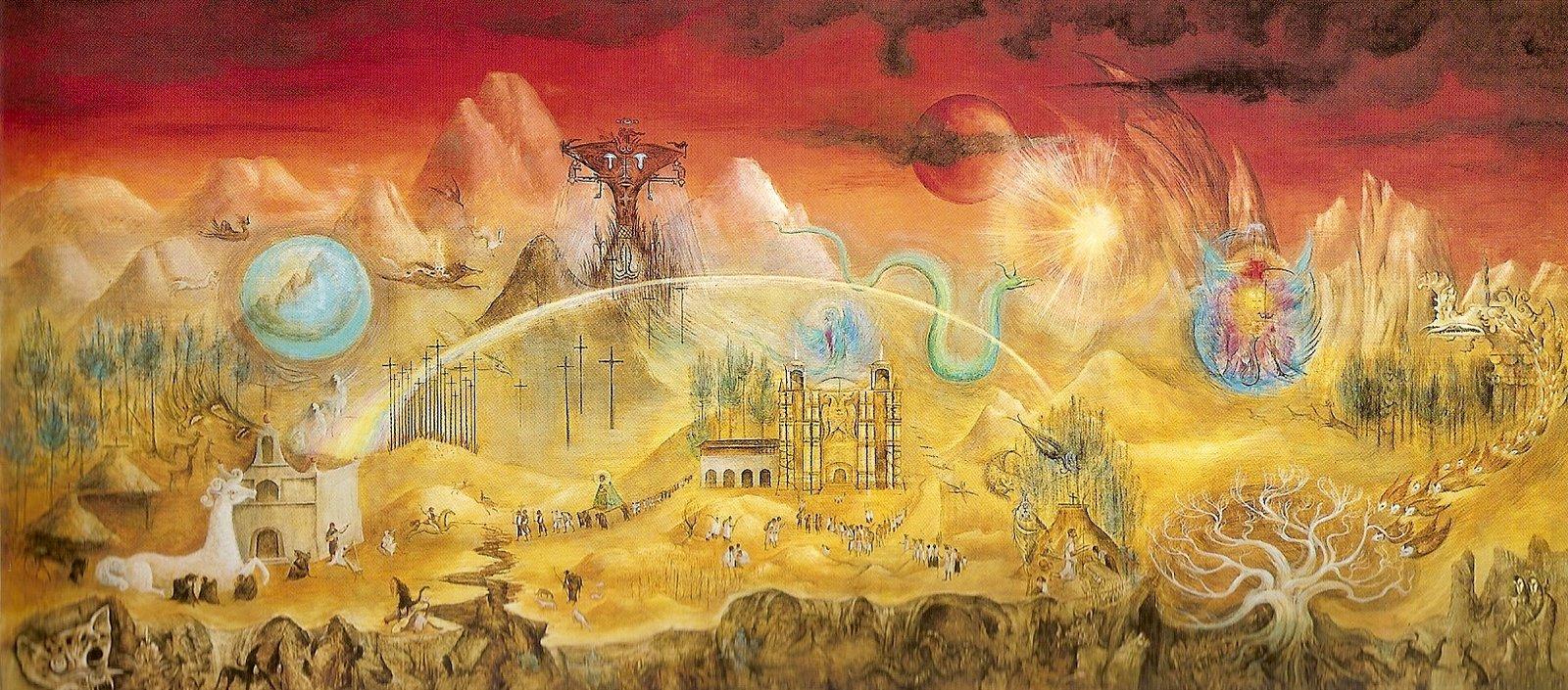 2. Leonora Carrington, El mundo mágico de los mayas