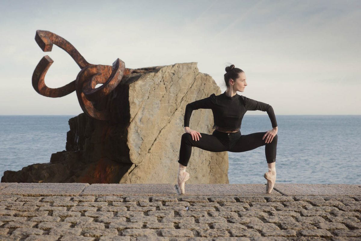 Ballet en Donostia, pelayo gonzalez
