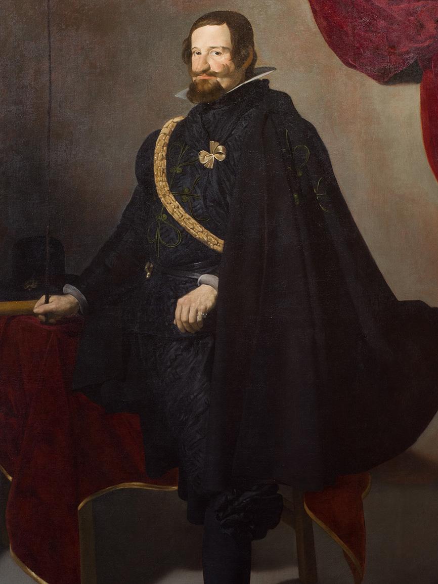 8. Velázquez, Gaspar de Guzmán, Conde Duque de Olivares