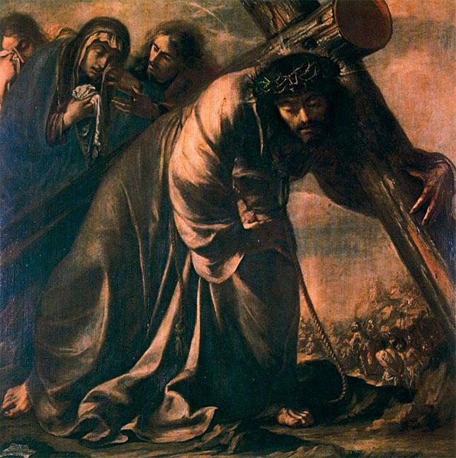 9. Valdés Leal, Cristo con la cruz a cuestas
