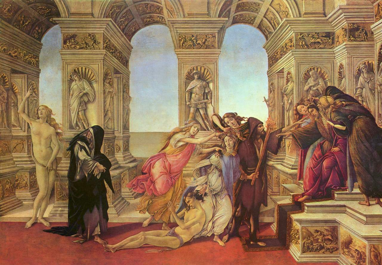 17. Sandro Botticelli, La Calumnia