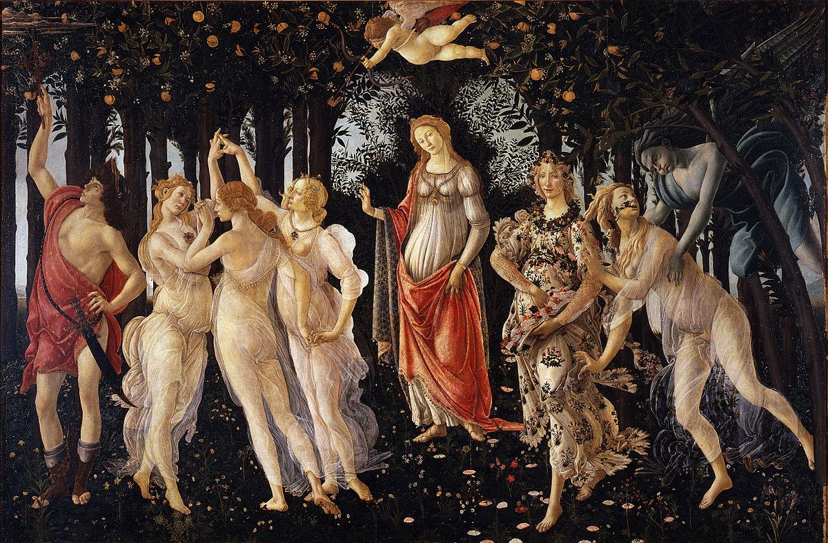 18. Sandro Botticelli, La Primavera