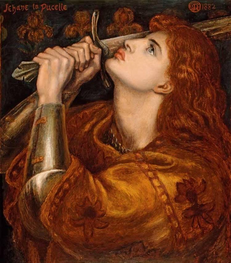 8. Juana de Arco, Rossetti