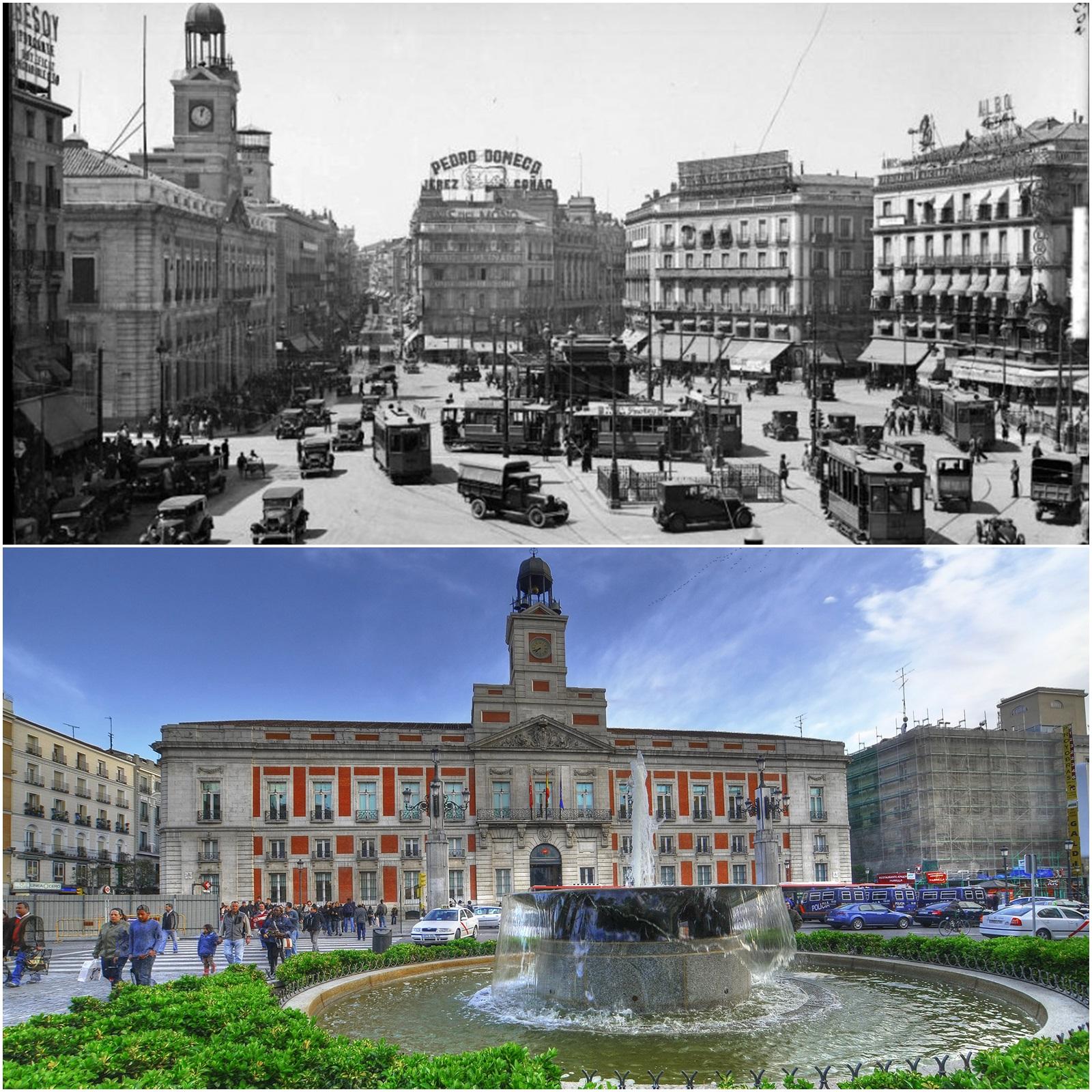 El madrid de ayer fotograf as del siglo xix y xx el for Puerta del sol 2017