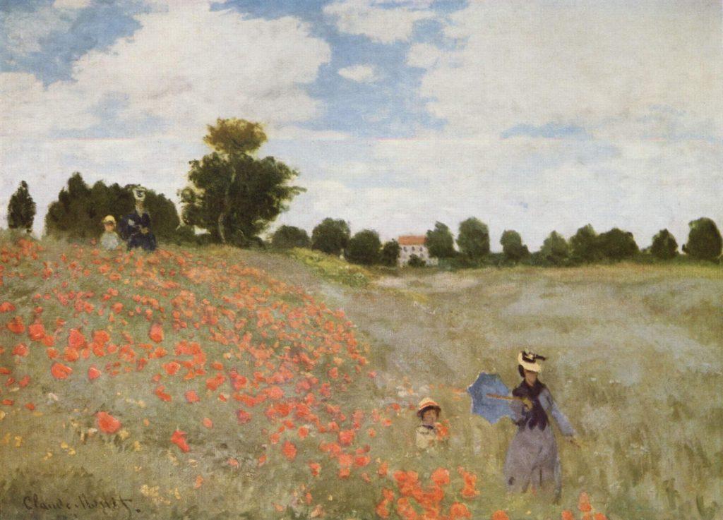 4. Campo floreciendo en Argenteuil