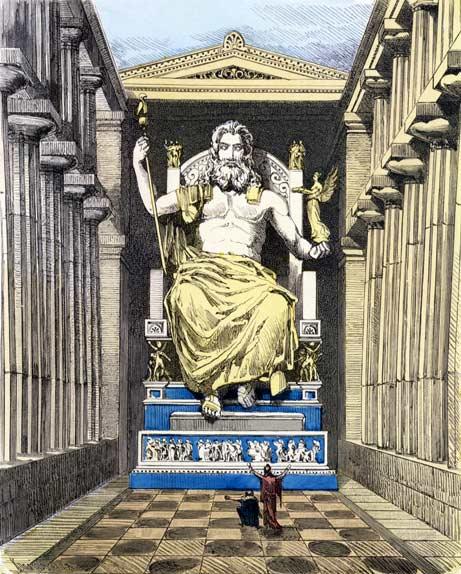 Zeus de Olimpia, Fidias