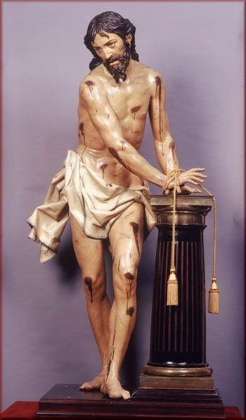 1. Cristo atado a la columna, Gregorio Fernández (1)