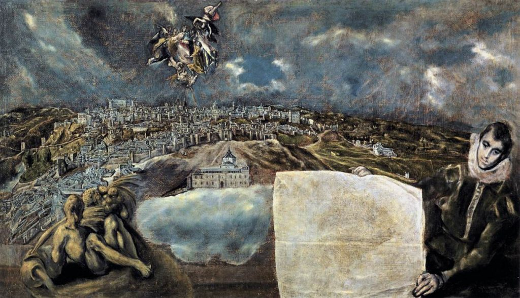 15. Vista y Plano de Toledo, el Greco