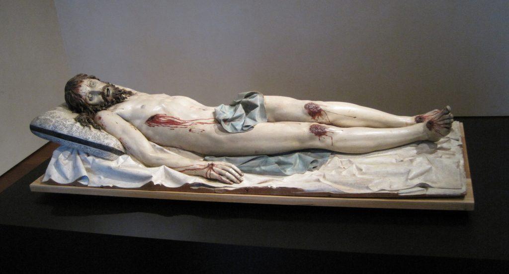 9. Cristo yacente 2, Gregorio Fernández