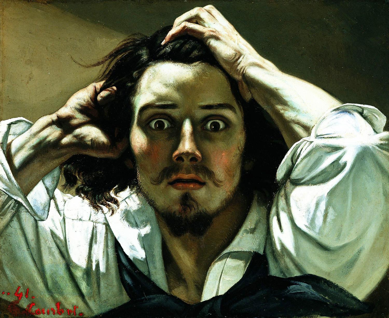 El romanticismo 1.-Autorretrato-Courbet1