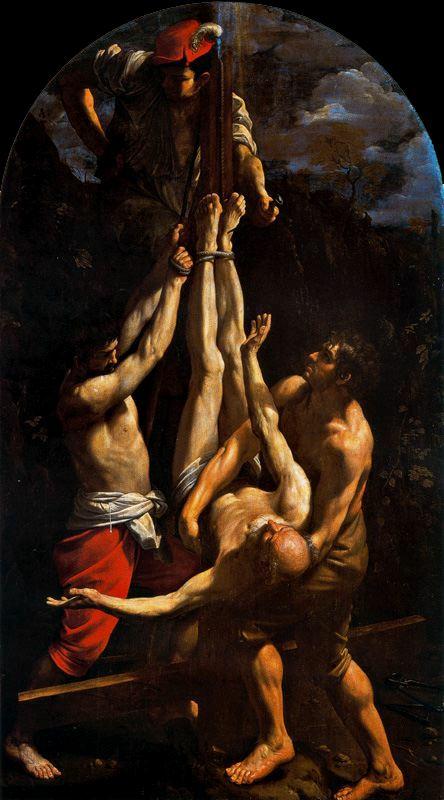1. Crucifixión de San Pedro