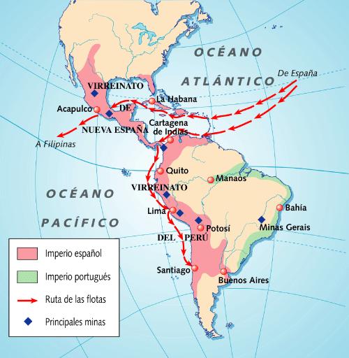 Mapa De Nueva España Siglo Xvi.Nueva Espana En El Siglo Xvi El Estudio Del Pintor