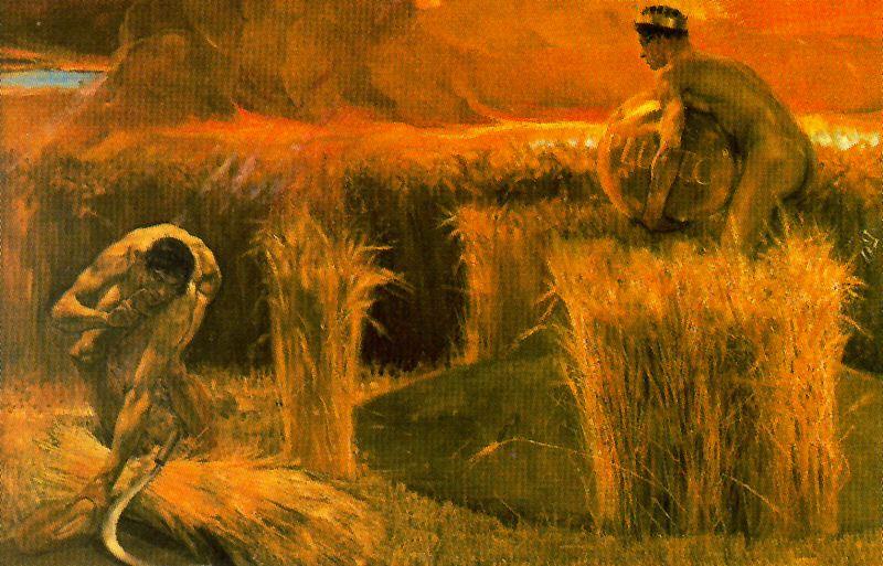 14. José Villegas Cordero, Bendice el pan que produce la fatiga