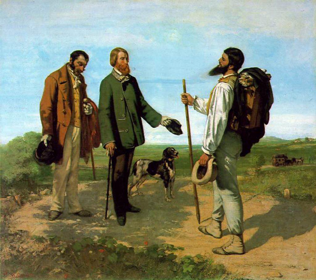 3. Bonjour monsier Courbet!