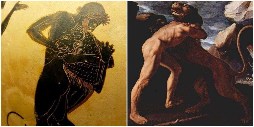 3. Heracles y el León de Nemea