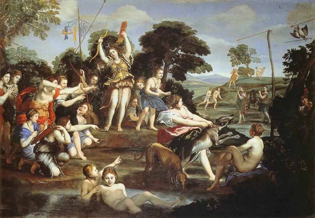 4. Caza de Diana (Pala Baglioni)
