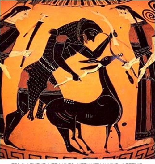 5. Heracles y la Cierva de Cerinia