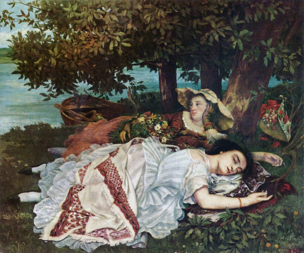5. Las muchachas a orillas del Sena