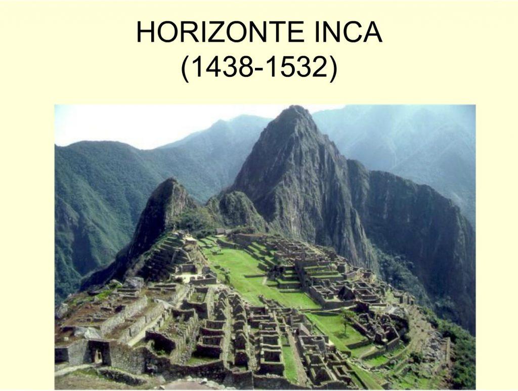 1. Horizonte Inca
