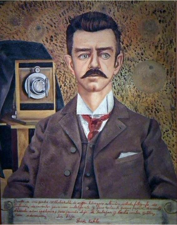 6. Retrato de su padre