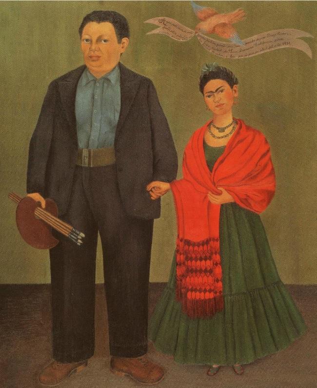 8. Frida Kahlo y Diego Rivera