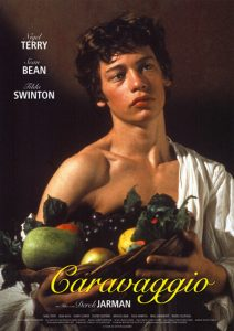 "Poster for the movie ""Caravaggio"""
