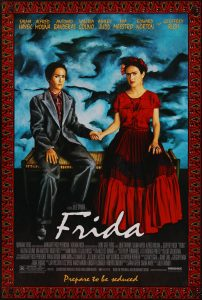 "Poster for the movie ""Frida"""