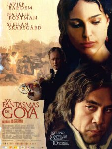 "Poster for the movie ""Los fantasmas de Goya"""
