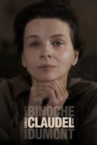 "Poster for the movie ""Camille Claudel, 1915"""