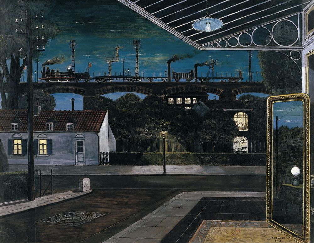 13, El viaducto, Paul Delvaux