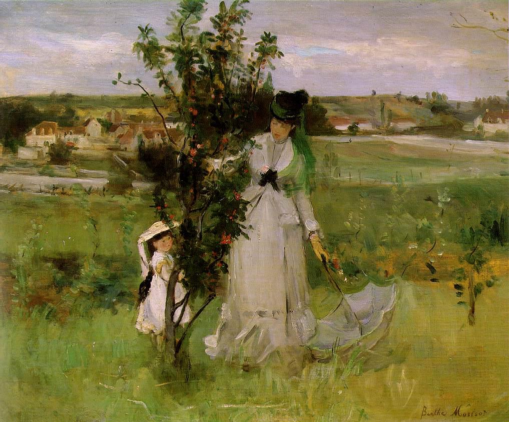 2 Berthe Morisot, Al escondite