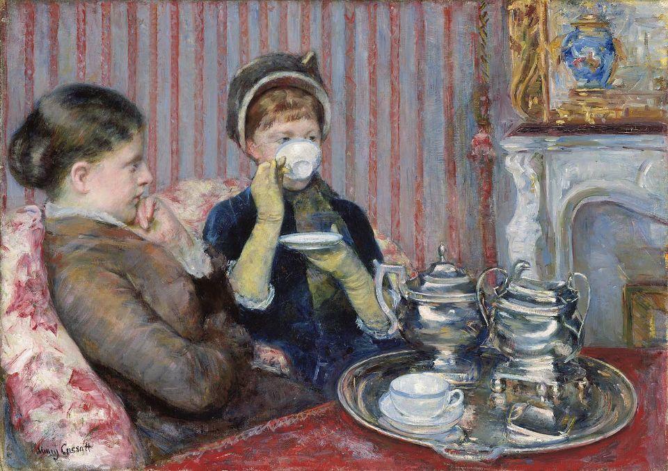 3 Mary Cassatt, El té de las cinco
