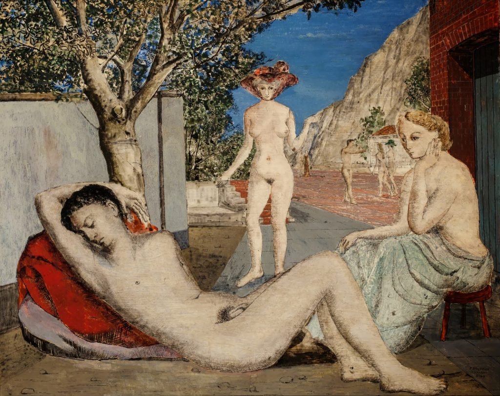 4, El Sueño, Paul Delvaux