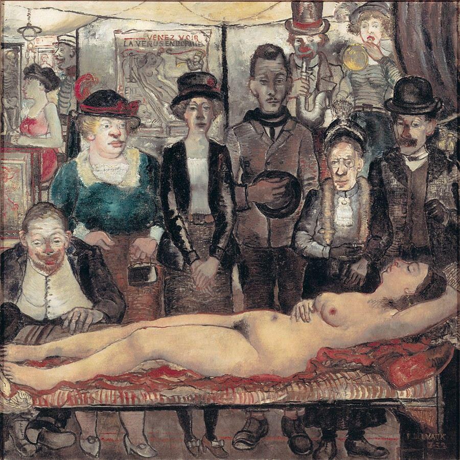5, La Venus Dormida, Paul Delvaux