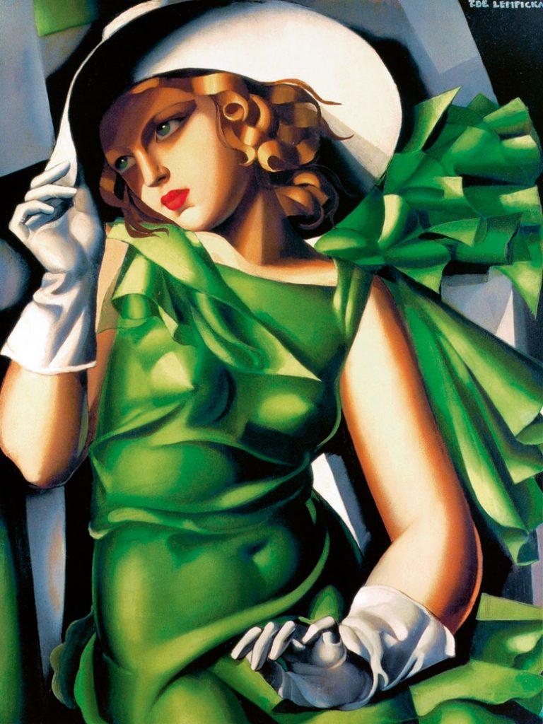7 Tamara de Lempicka, Joven con guantes