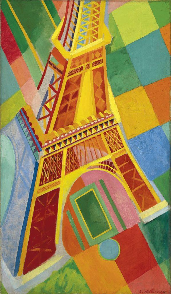 8 Sonia Delaunay, Torre Eiffel