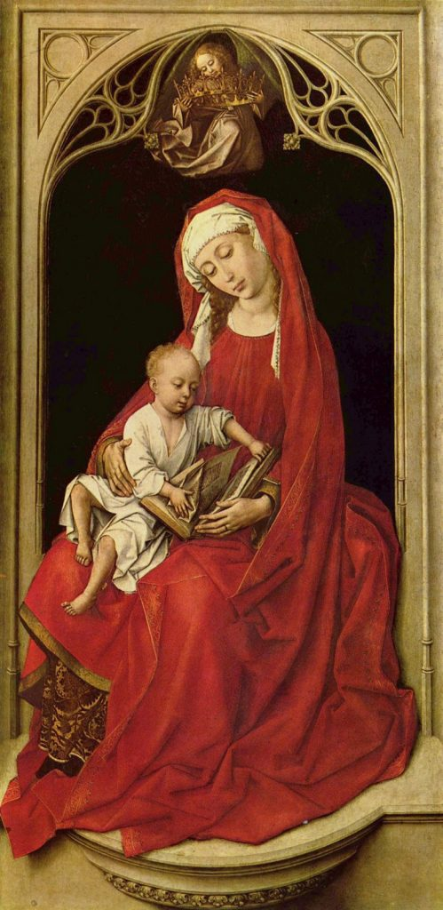 Rogier van der Weyden La Virgen con el Niño